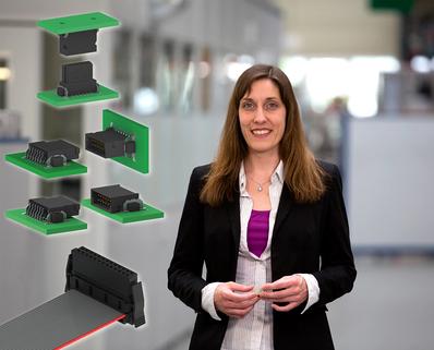 One27 SMT - connecteur pour circuit imprimé au pas de 1,27mm