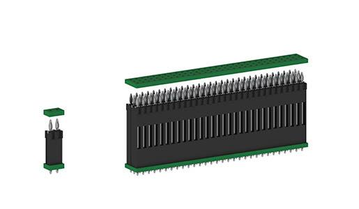 Les connecteurs de circuits imprimés flexilink avec la technologie press-fit