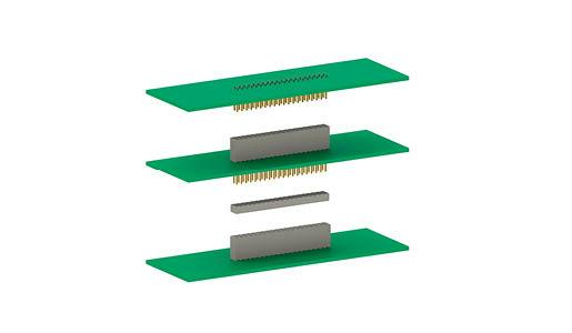 Barrettes mâles et femelles Varpol - connexions de circuits imprimés